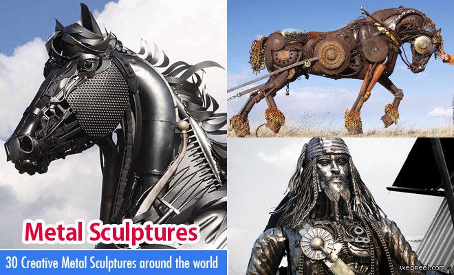 30 Beautiful and Creative Metal Sculptures around the world - part 2