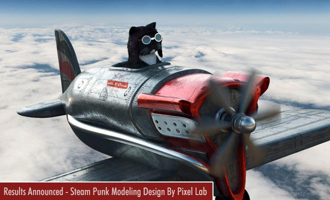 Steampunk 3D Model Design Competition results announced by Pixel Lab