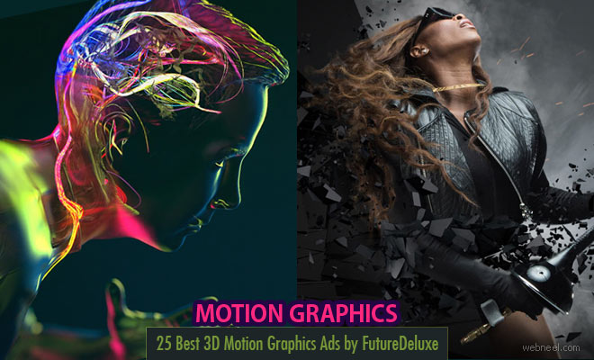 25 Best 3D Motion Graphics Ad Films and Designs by FutureDeluxe
