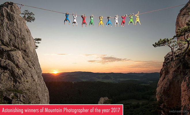 Astonishing winners of Mountain Photo of the year 2017