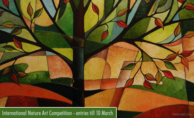 1st International Nature Art Competition - Mixed Media Accepting Entries Till 10th March
