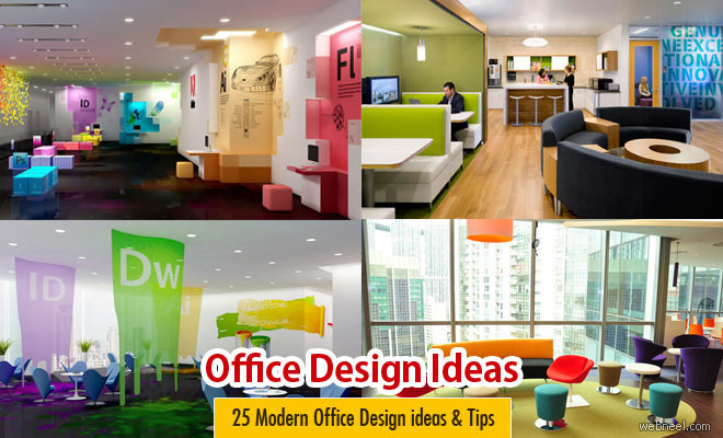 30 modern office design ideas and home office design tips for Marketing office design