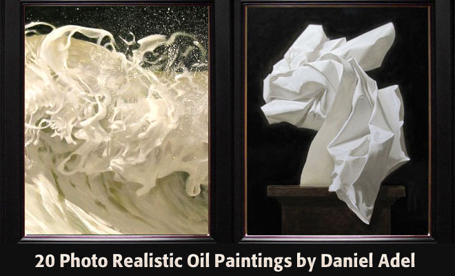 20 Inspiring Photo realistic Oil Paintings by Artist Daniel Adel