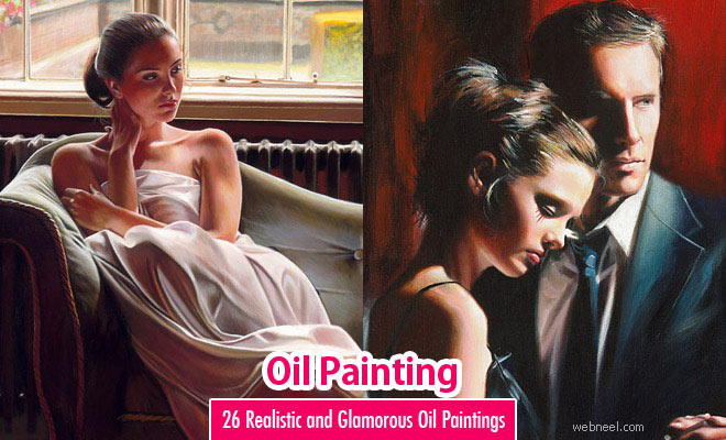 26 Hyper Realistic and Beautiful Oil Paintings by Famous Artist Rob Hefferan
