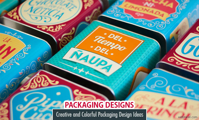 50 Creative and Colorful Packaging Design Ideas for you