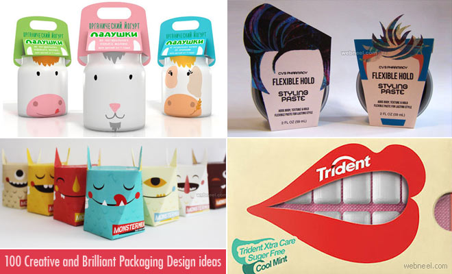 50 Brilliant and Expressive Packaging Design ideas for you