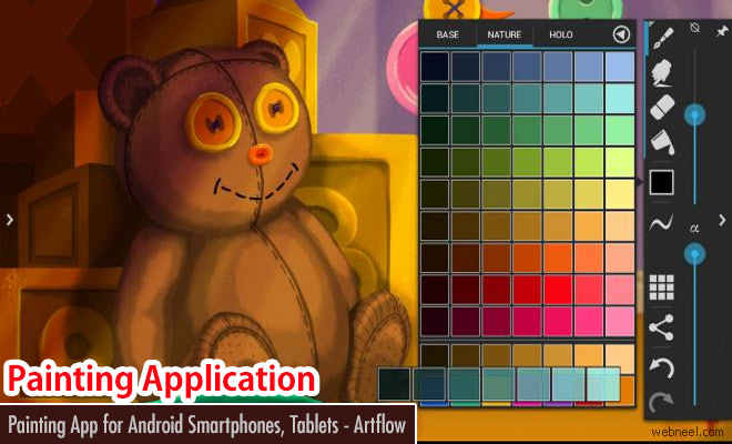ArtFlow an application for drawing and painting on your Android phones