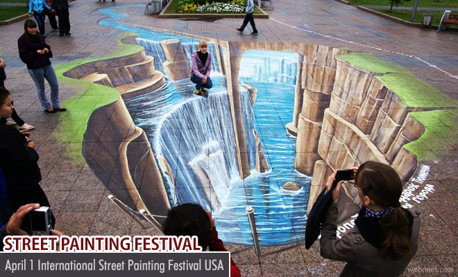 International Street Painting Festival - April 1 2017 USA