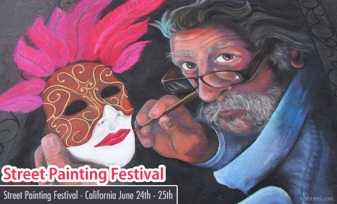 Italian Street Painting Marin 2017 - June 24 - 25 2017 - California