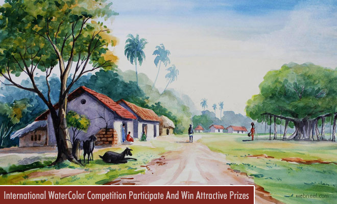2018 Contemporary Watercolor Painting Competition Calling Entries Till January 15