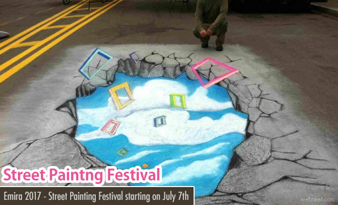 10th Annual Street Painting Festival - New York on 7 July 2017