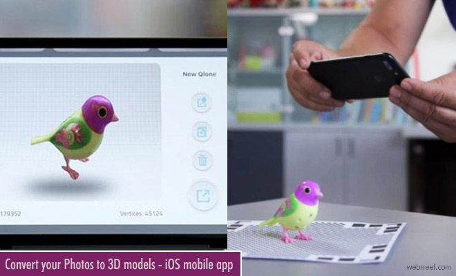 Convert your photos to 3D Models with Qlone - 3D Modeling ios Mobile App