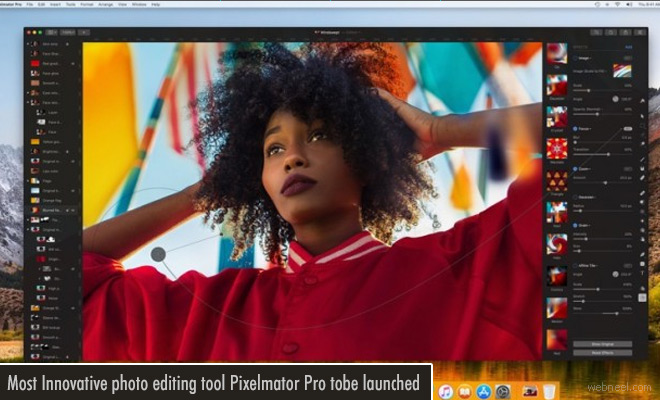 Most Innovative photo editing tool Pixelmator for Mac