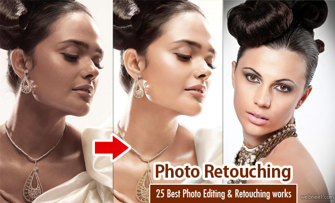 25 Best Photo Editing and Retouching works around the world