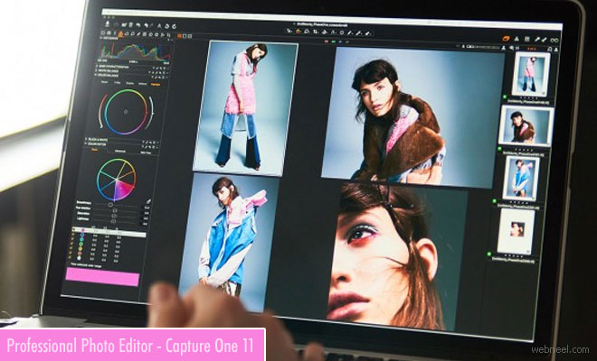 Professional Photo Editing Software - Capture One 11 with improved performance and features