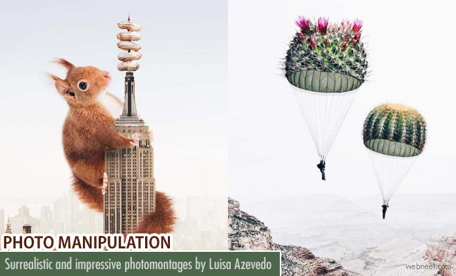 Surrealistic and impressive photomontages by Luisa Azevedo