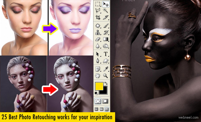 25 Best Photo Retouching Masterpieces and Tips for Designers