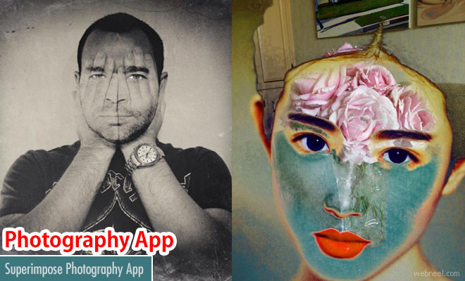 Superimpose Photography app for IOS and Android phones
