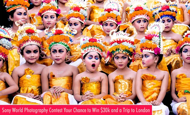 Sony World Photography Awards is Now Open for Entries till Jan 4th 2018 -Your Chance to Win $30k