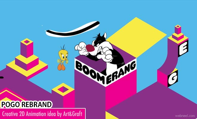 New Branding Design animation video of Pogo by Art and Graft