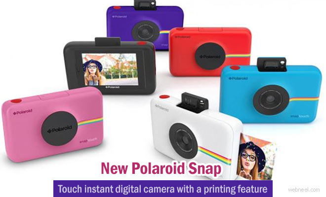 New Polaroid Snap Touch digital camera with a instant printing feature