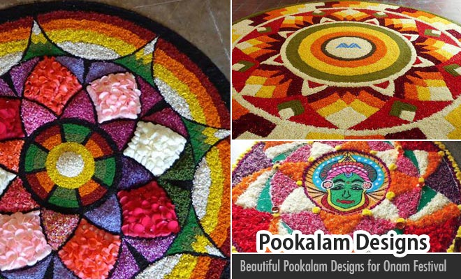 60 Most Beautiful Pookalam Designs for Onam Festival - part 4