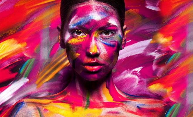 Inspiring Pop-out Paintings by Viktoria Stutz