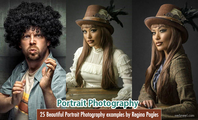 25 Beautiful Portrait Photography examples by Regina Pagles