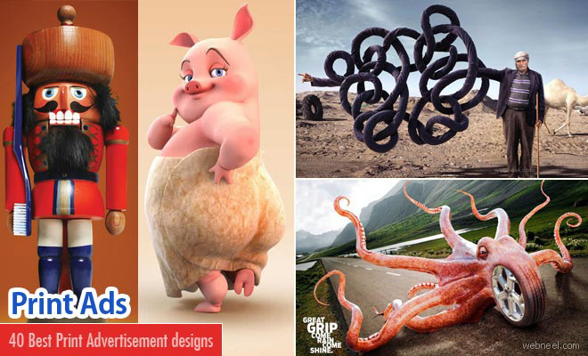 40 Best Print Advertisements and Creative Ads design inspiration