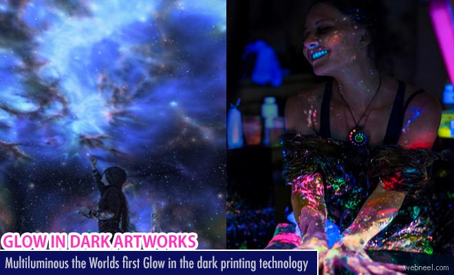 multiluminous the worlds first glow in the dark printing technology
