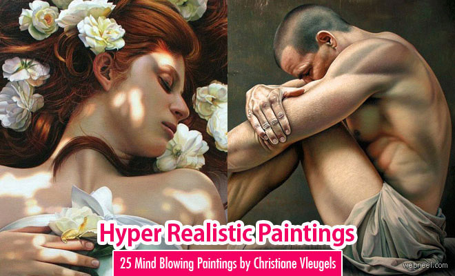 25 Mind Blowing Hyper Realistic Oil Paintings by Christiane Vleugels