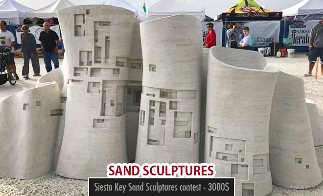 Siesta Key Sand Sculptures announced its winners - 3000$