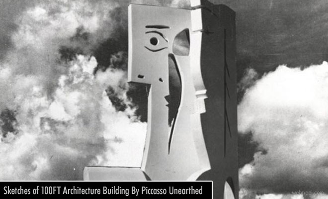 Researchers discover a 100 feet Architecture Sculpture Design Belonging to Pablo Picasso