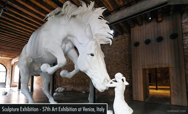 57th Viva Arte Viva Art Exhibition at Venice Italy