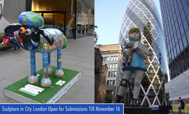 Award Winning 2018 Sculpture in the City - London is Open for Submissions