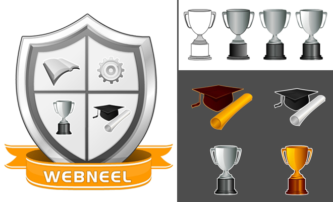 How to create a logo for university or college - Step by Step Tutorial