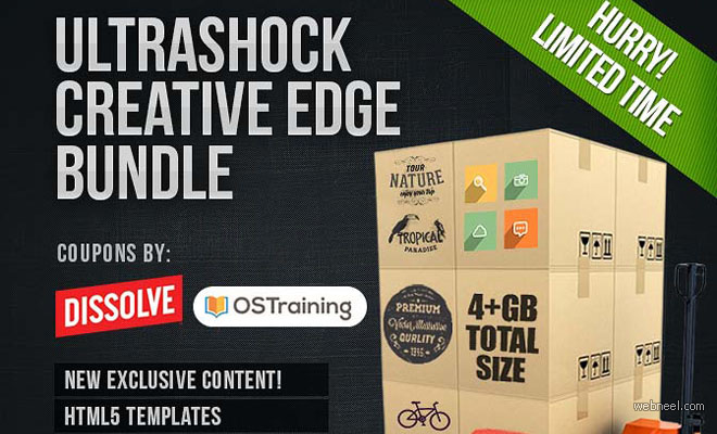 Creative Edge Design Bundle (worth $1,000) - only $49