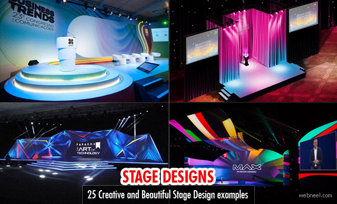 25 creative and beautiful stage design examples from around the world - Concert Stage Design Ideas