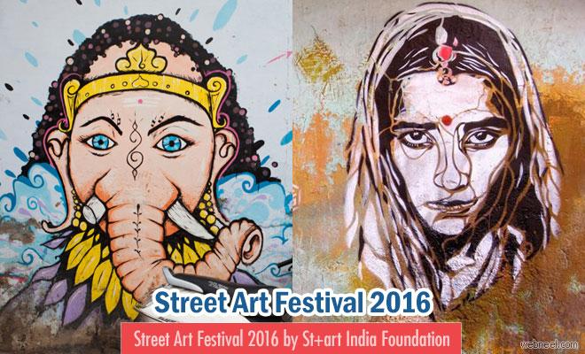 Street Art Festival 2016 by St+art India Foundation