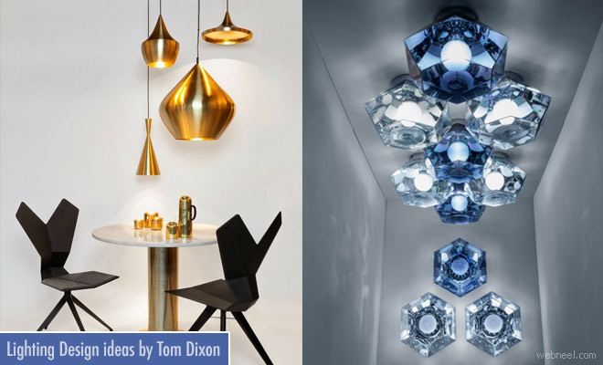 Beautiful Lighting design ideas by British Designer Tom Dixon