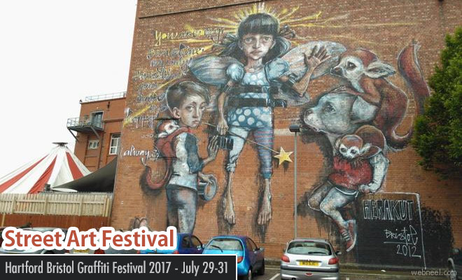 Hartford Street Art and Graffiti Festival 2017 - July 29-31