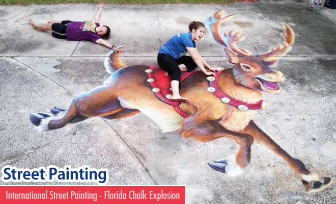 International Street Painting and Florida Chalk Explosion 2017 - 3 April 2017