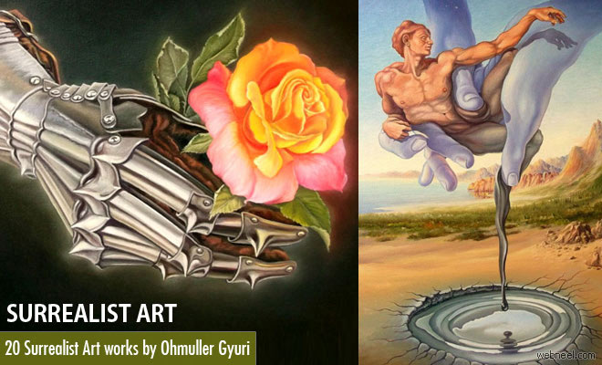 20 Beautiful Surrealist Art works and Surreal Paintings by Ohmuller Gyuri