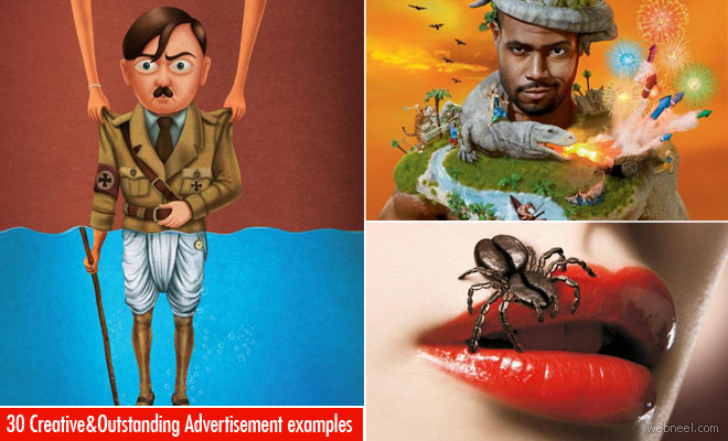 30 Outstanding and Creative Advertisement Examples around the world