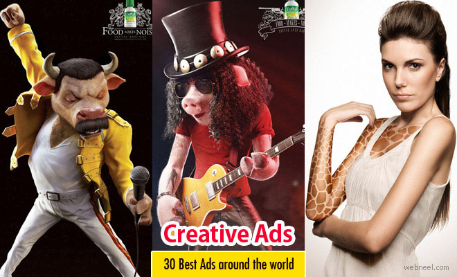30 Best and Creative Ads around the world for your inspiration