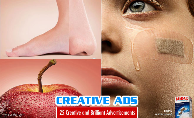 25 creative and brilliant advertisement design examples for Ad designs