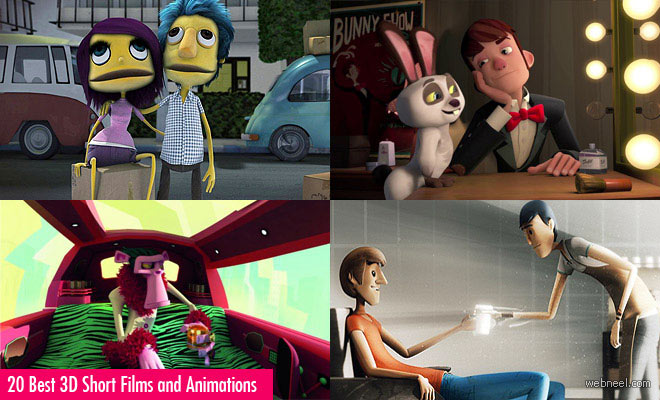 20 Awesome 3D Short Films and 3D Animations for your inspiration