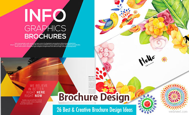 26 Best And Creative Brochure Design Ideas For Your Inspiration