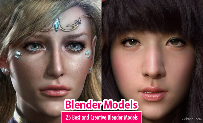 Blender Models - 25 Best and Creative Blender Models for your inspiration