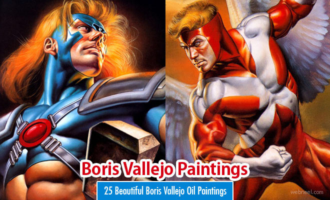 25 Beautiful Boris Vallejo Oil Paintings for your inspiration